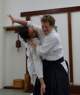 Instructor Kayla Feder Sensei